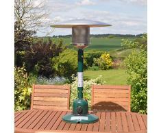 Kingfisher Pheater1 - Chauffage à gaz - pour terrasse, Jardin, extérieur À Poser sur Une Table 53.5x53.5x88 cm Multicolore