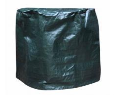 Gardeco COVER-FB80 Bâche pour brasero et Foyer de Jardin Vert Diamètre 80 cm