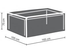 Perel Garden OCT160 Housse de Protection pour Table de Jardin Maximum 160 cm Anthracite 165 x 105 x 75 cm