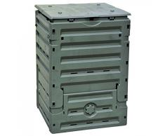 Verdemax 2889 2889 Composteur Complet avec Rabat inférieur pour enlever Le Produit Fini (300 l), Vert