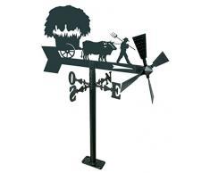 IMEX EL ZORRO 11203 girouette de Jardin yuntas de bœufs 480 mm