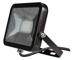 Perel Design Projecteur LED 20 W, 24,5 x 8 x 297 cm, Chaud/Noir, leda4 02ww de B