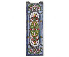 Design Toscano Panneau de Verre teinté - Palais Royal Vitrail Tentures - Rideaux