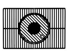 LANDMANN 15910 Modulus Système de Grille pour Barbecue Noir 65 x 2 x 44 cm