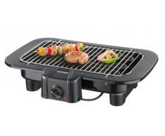 Severin 8520 Barbecue, Noir, 2300 W, Grille Chromée