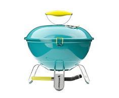 Landmann - 31375 - Barbecue de Table Charbon Piccolino - Turquoise