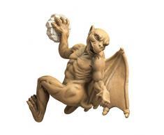 Design Toscano NG32361 Statue de Gaston le gargouille gothique grimpeur pour Ordinateur Bronzage 9 x 10 x 12,5 cm