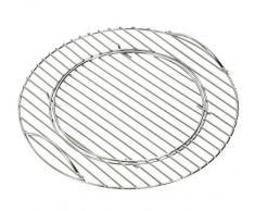 Dehner Grille de Cuisson pour Barbecue sphérique 45 cm argenté