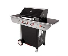 Somagic Manhattan 300S Barbecue Gaz, Noir/Argent