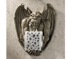 Design Toscano CL56600 Porte-papier hygiénique - Purger la gargouille gothique Salle de bains Décor - toilettes rouleau de papier - Bathroom Wall Décor