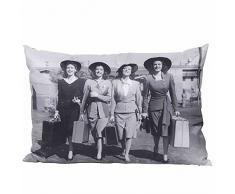 schwien Horst Ladies Coussin décoratif, 1335233, Polyester, Gris, 40 x 60 x 18 cm