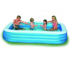 Intex 0078257564835 Piscine RECTANGULAIRE Family, 749 liters L, Vert, 262x175x56 cm