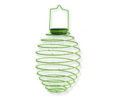 Mundus 35854 Lampion Solaire Spirale Vert, 22, 5 x 38 cm