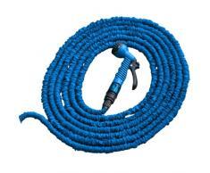 Bradas Blf25 Wth515bl 5/15 m Extension Leitungfle Flexible Extensible Jardin Eau Tuyau darrosage et buse de pulvérisation, Bleu, 30 x 30 x 10 cm