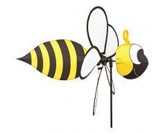 HQ Spin Critter Bee Girouette, Jaune, 41 x 32 x 65 cm