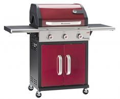 Landmann 12931 Barbecue Gaz Triton PTS 3 Bruleurs Bordeaux