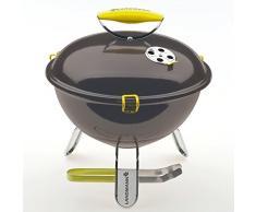 LANDMANN 31375 - Barbecue de Table Charbon Piccolino - Anthracite