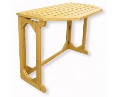 HABAU 2816 Table de Balcon Rabattable