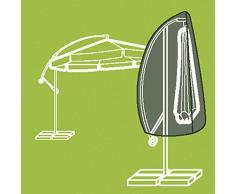 Siena Garden Housse pour parasol déporté en polyester Oxford 600, 300 cm, anthracite/gris