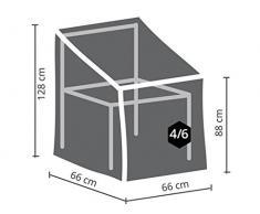 Perel Garden ocsc Étui pour Fauteuil empilable Anthracite, 66 x 66 x 88 cm