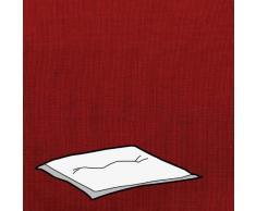Kettler 0309503-8767 Coussin pour tabouret Rouge 48 x 48 x 9 cm