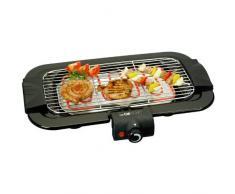 2849 Barbecue Électrique Clatronic Thermostat Réglable- Grille et Éléments de Chauffe Amovibles