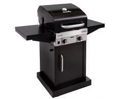 Char-Broil Nouvelle Série Performance 220B – barbecue au gaz Grill avec la technologie Tru-infrared, finition. barbecue au gaz, Noir, 2 brûleurs