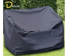 Friedola 15171 Wehncke Deluxe Housse/Bâche de protection pour banc de jardin Noir 120 x 78 x 80 cm