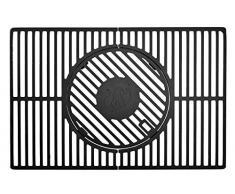 LANDMANN 15917 Modulus Système de Grille pour Barbecue Noir 48 x 2 x 44 cm