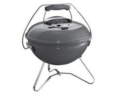 Weber 1126004 Smokey Joe Premium Barbecue à Charbon Gris 37 cm