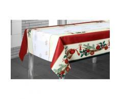 Nappe de table Nol en modle Boules - 350 x 150 cm
