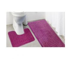 Tapis de bain 2 pcs - Rose