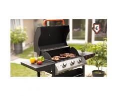 Barbecue gaz Laguiole 3 brûleurs + Pack 6 accessoires
