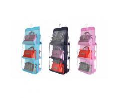 3 Sacs de rangement pour sac à main avec 6 poches - Assortis