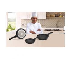 Set de 3 casseroles en aluminium Renberg