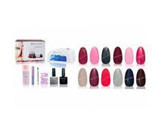 12 Gels de couleur/Lampe UV/Top coat/Base coat/Accessoires (set 2)