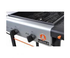 Barbecue gaz Laguiole 2 brûleurs + Pack 6 accessoires