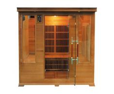 items-france LUXE CLUB 4/5 PL - Sauna infrarouge luxe club 4/5 places 185x185x190cm