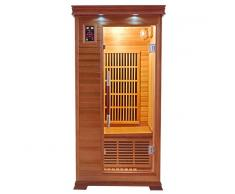 items-france LUXE 1 PL - Sauna infrarouge luxe 1 place 89x94x190cm
