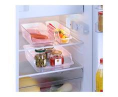 3 boîtes de rangement pour réfrigérateur Wenko