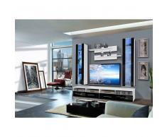 JUSThome CLEVO E II Ensemble TV mural Blanc Noir