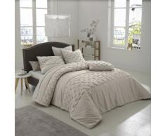 La Redoute Interieurs - Couvre-lit en satin de coton KHIN . Beige La Redoute Interieurs
