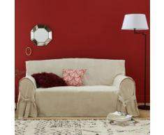 La Redoute Interieurs - Housse de canapé lin/coton, JIMI . Marron La Redoute Interieurs