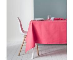 NAPPE CARREE 170X170 CM LINGE DE TABLE COTON CORAIL Rose Degrenne
