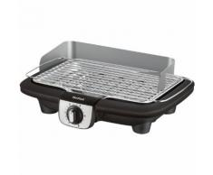 Barbecue électrique TEFAL Easygrill Adjust Inox Table BG90A810 Noir Tefal