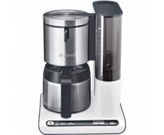 Cafetière programmable BOSCH TKA8651 blanc / inox Blanc Bosch