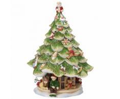 Sapin de Noël grand avec enfants Christmas Toys Memory Vert Villeroy & Boch