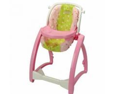 Chaise haute - Baby Princess Coralie : 4 en 1