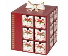 Calendrier de l'Avent Pôle Nord express Christmas Toys Memory Multicolore Villeroy & Boch