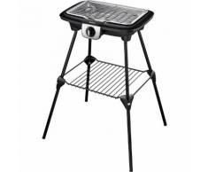 Barbecue électrique TEFAL Easygrill2en1 bbq plancha Pieds BG931812 Noir Tefal